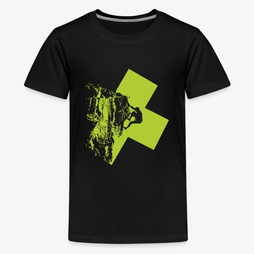 Escalando - Teenage Premium T-Shirt