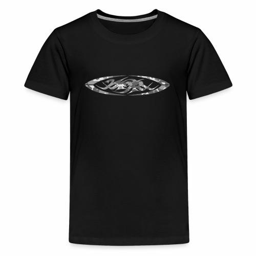 2wear original logo cammo grey - Teenager premium T-shirt