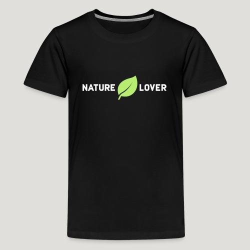 Nature Lover - Teenager Premium T-Shirt