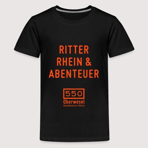 Ritter Rhein Abenteuer - Teenager Premium T-Shirt