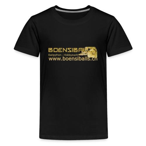 Logo02 - Teenager Premium T-Shirt