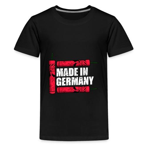 Silvester Feuerwerk Deutsche Knaller - Teenager Premium T-Shirt