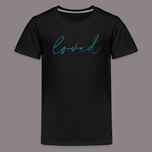 loved petrol - Teenager Premium T-Shirt