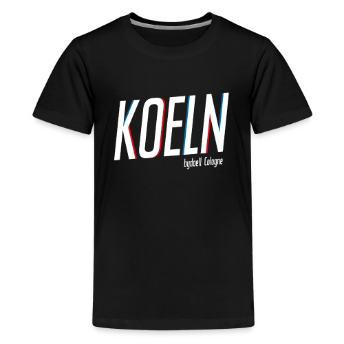 Koeln Basic - Teenager Premium T-Shirt