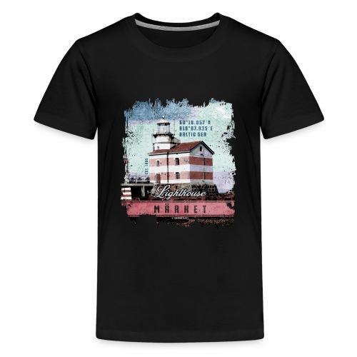 Märket majakkatuotteet, Finland Lighthouse, väri - Teinien premium t-paita