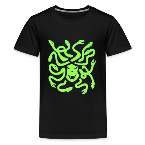 Medusa head - Premium-T-shirt tonåring