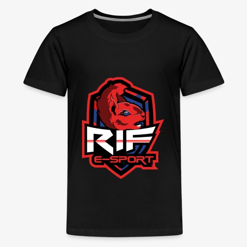 RIF Logo - Teenager premium T-shirt
