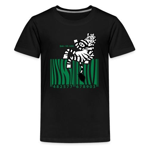 Zebra Code - Teenage Premium T-Shirt