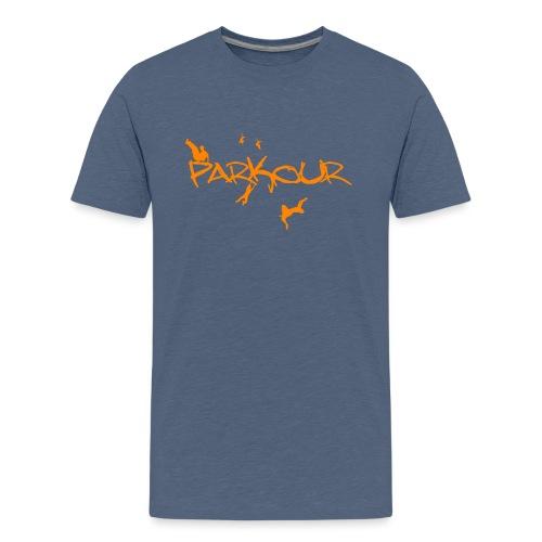 Parkour Orange - Teenager premium T-shirt