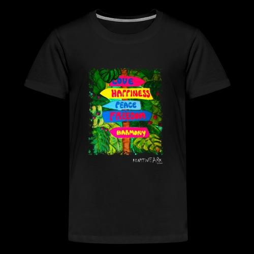 LOVE - Teenager Premium T-Shirt