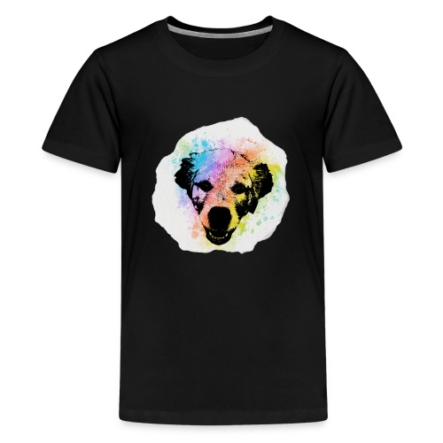 Golden Retriever Aquarell - Teenager Premium T-Shirt