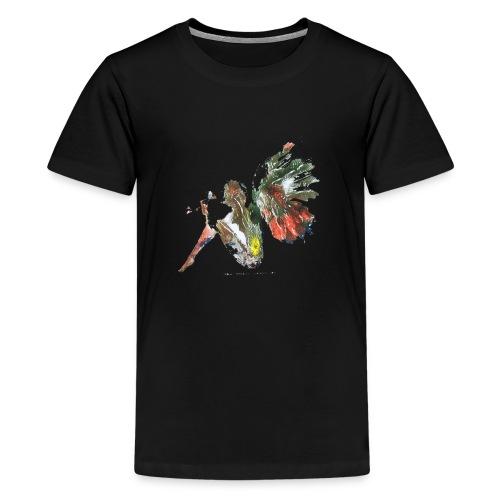 Ninfa de colores - Camiseta premium adolescente