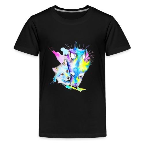 Loups Wolf - T-shirt Premium Ado