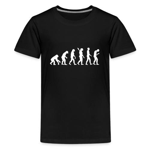 Entwicklung des Smartphone Zombie / Smombie - Teenage Premium T-Shirt
