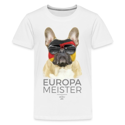 Europameister Deutschland - Teenager Premium T-Shirt