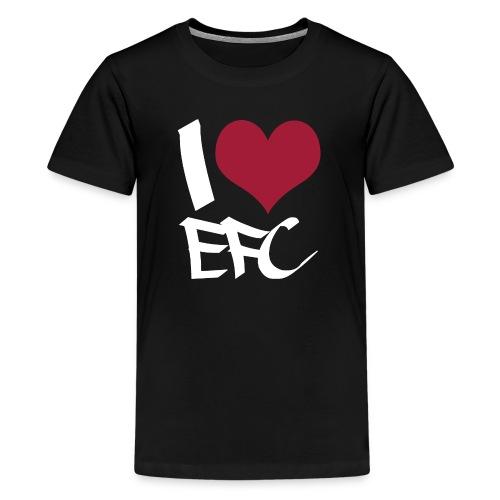 iloveefc white - Teenager Premium T-Shirt