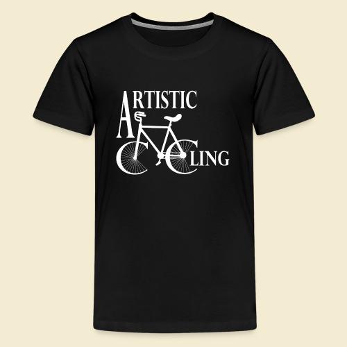 Kunstrad | Artistic Cycling - Teenager Premium T-Shirt