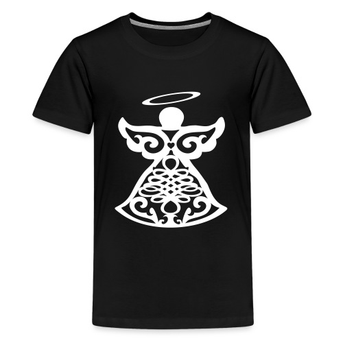 Ange gardien stylisé - Teenage Premium T-Shirt