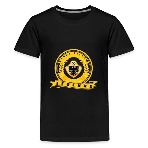 logo3red png - Teenager Premium T-Shirt