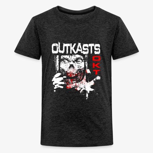 Outkasts Scum OKT Front - Teenage Premium T-Shirt