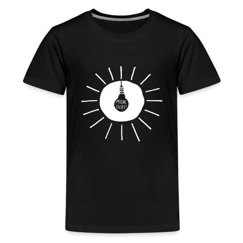 mehr licht - Teenager Premium T-Shirt