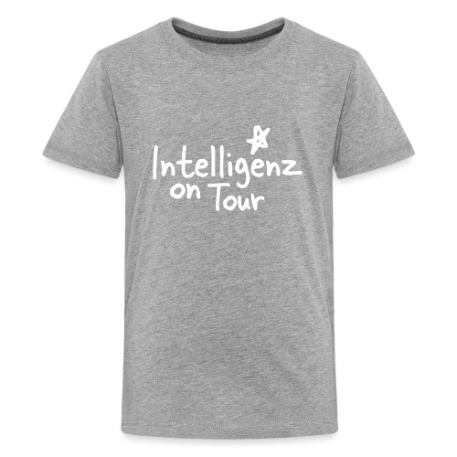 Nerd Shirt Intelligenz on Tour - Teenager Premium T-Shirt