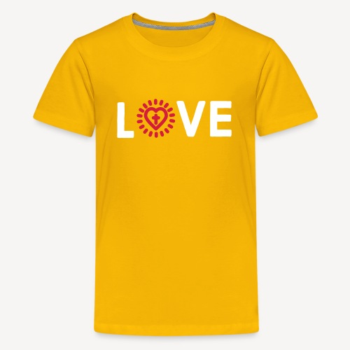 LOVE - Teenage Premium T-Shirt