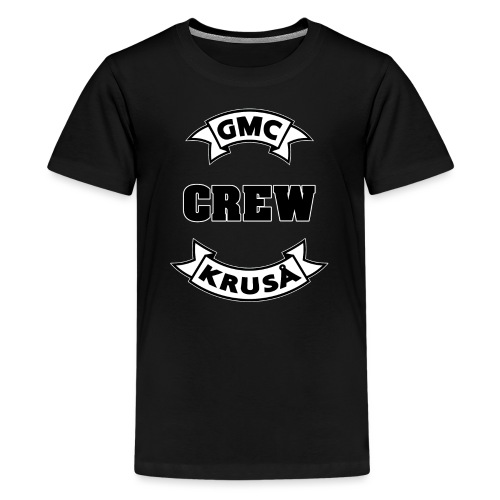 GMC CREWSHIRT - KUN FOR / CREW MEMBERS ONLY - Teenager premium T-shirt