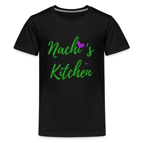 Nachi s Kitchen Logo - Teenage Premium T-Shirt