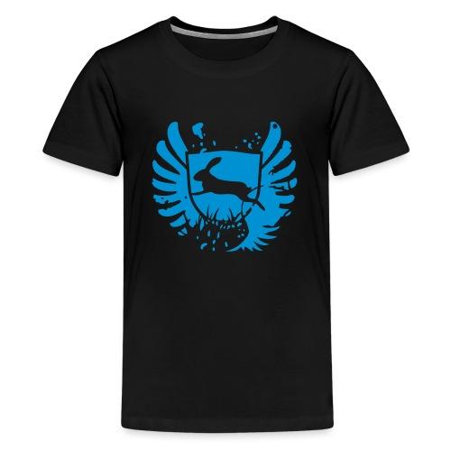 bunny hase kaninchen häschen karnickel mümmelmann - Teenager Premium T-Shirt