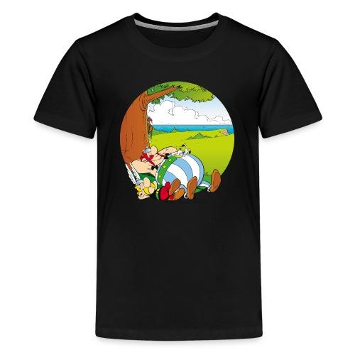 Astérix & Obélix Font Une Sieste - T-shirt Premium Ado