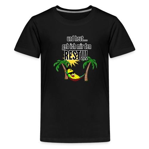 und heut... geb ich mir den Rest - Party Banane - Teenage Premium T-Shirt
