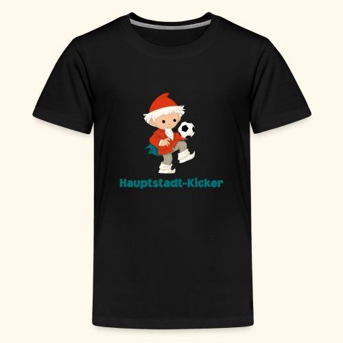 Sandmännchen Hauptstadt-Kicker - Teenager Premium T-Shirt