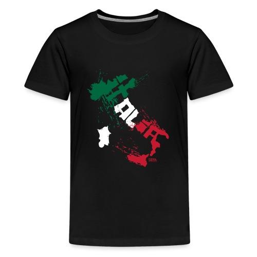 Italia Blanc.png - T-shirt Premium Ado