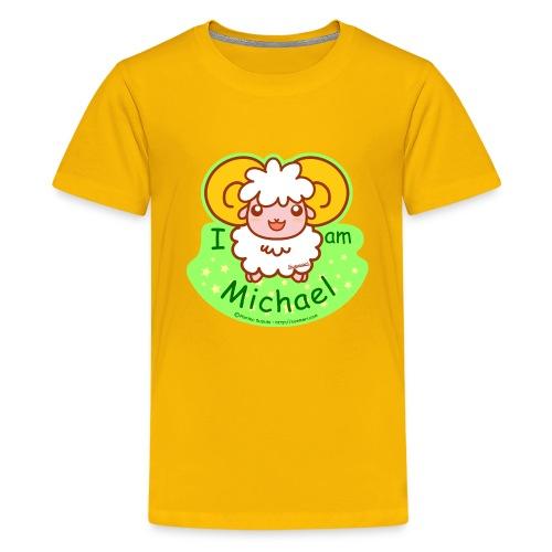 I am Michael - Teenage Premium T-Shirt