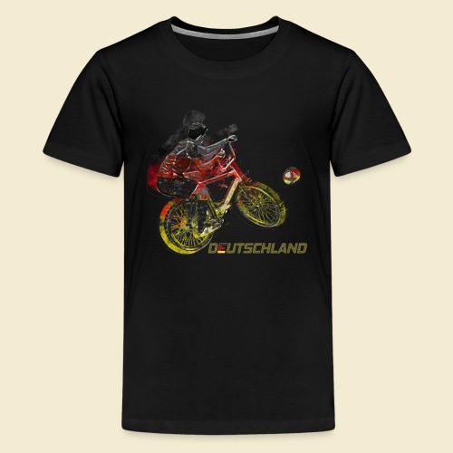 Radball | Deutschland - Teenager Premium T-Shirt