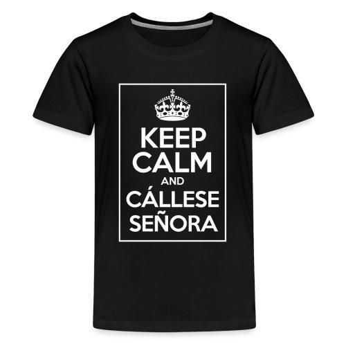 Callese Señora light - Camiseta premium adolescente