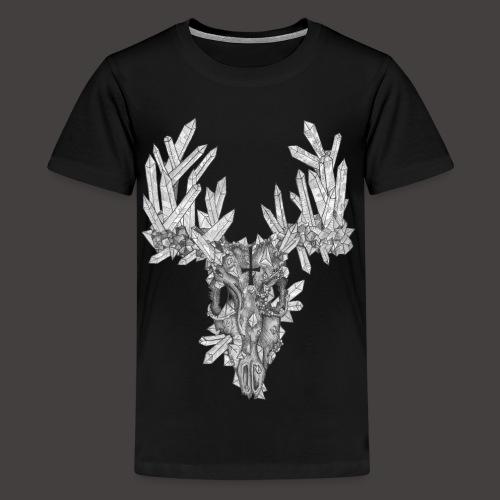 Le Cerf de Cristal - T-shirt Premium Ado