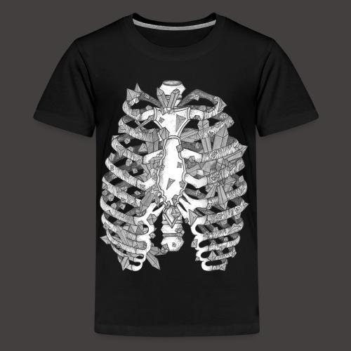 La Cage Thoracique de Cristal - T-shirt Premium Ado