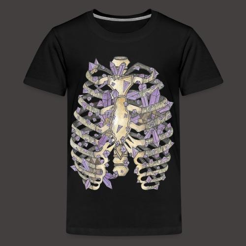 La Cage Thoracique de Cristal couleur - T-shirt Premium Ado