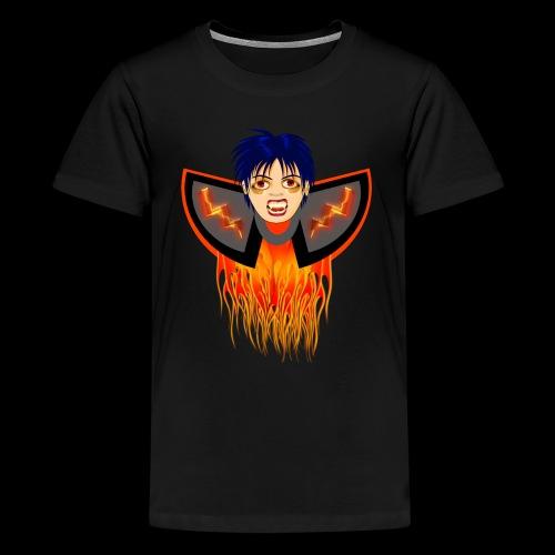 vampire en flamme - T-shirt Premium Ado