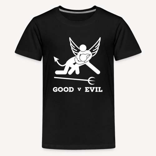 GOOD V EVIL - Teenage Premium T-Shirt
