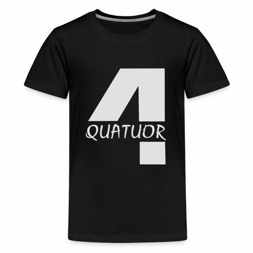 Quatuor - T-shirt Premium Ado