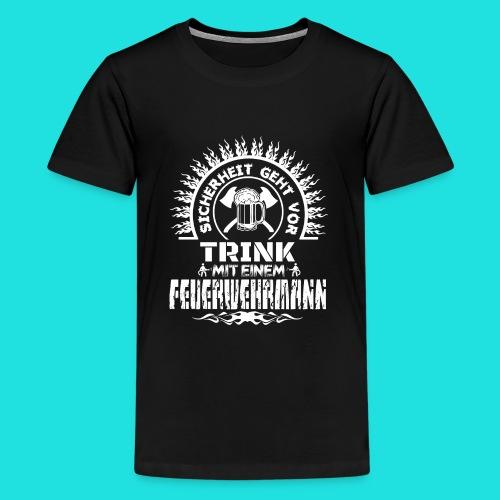 Feuerwehrmann - Teenager Premium T-Shirt