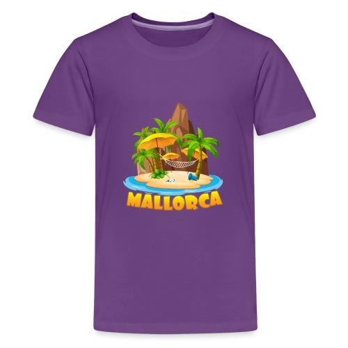 Mallorca - schau wie schön die Insel ist! - Teenager Premium T-Shirt