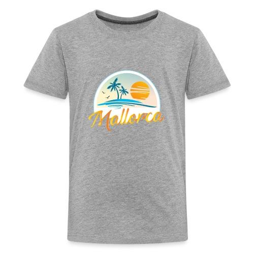 Mallorca - die goldene Insel der Lebensqualität - Teenager Premium T-Shirt