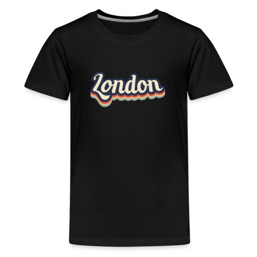 Vintage London Souvenir - Retro London - Teenager Premium T-Shirt