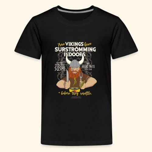 Indoors | Surströmming T-Shirts - Teenager Premium T-Shirt