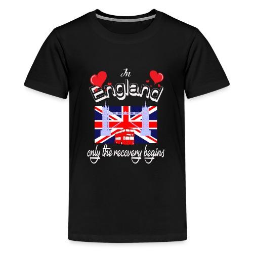Urlaub England englisch lernen Ferien in England - Teenager Premium T-Shirt