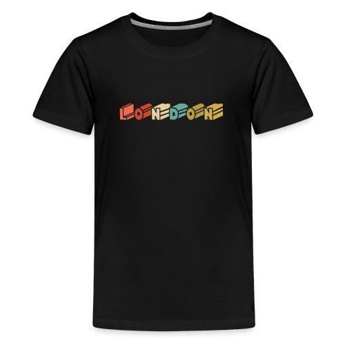 Retro London Souvenir - Vintage London - Teenager Premium T-Shirt
